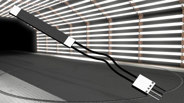 柔性弯曲光纤传感器